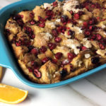 Baked Cranberry Orange French Toast