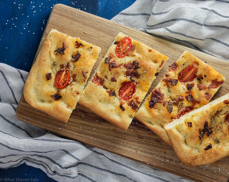 Herbed Tomato Focaccia
