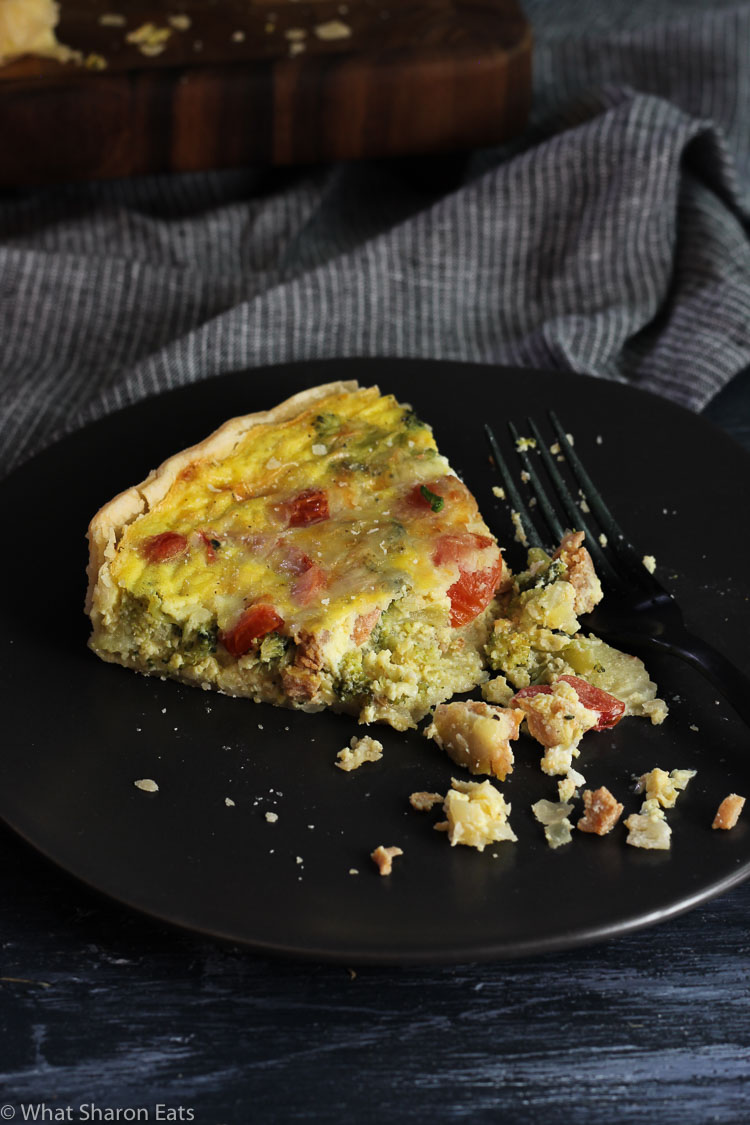 Breakfast Sausage Quiche
