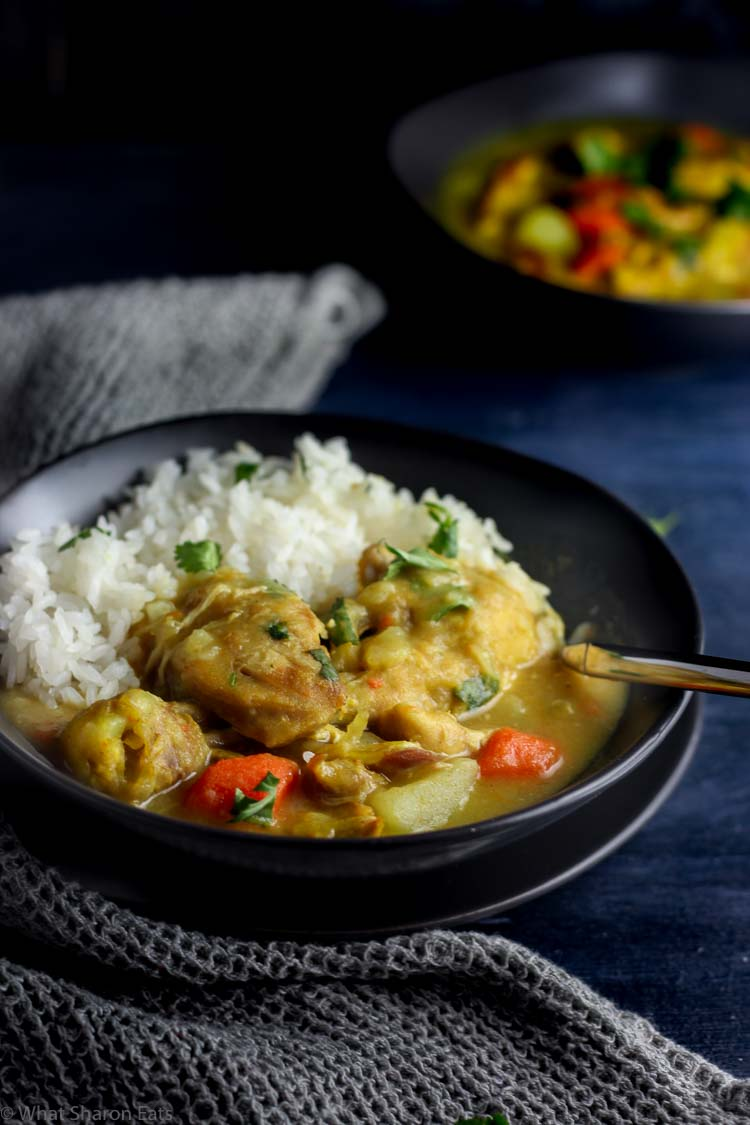 Grandpa's One Pot Chicken Curry