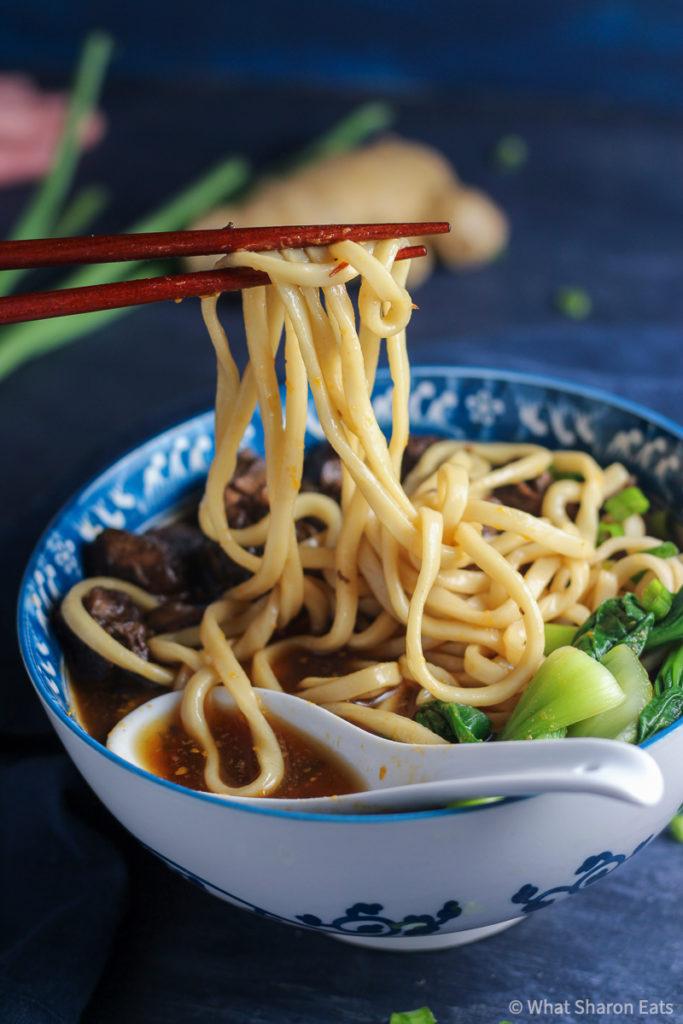 Braised Beef Noodle Soup Noodles